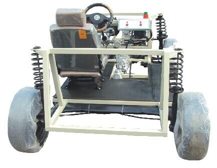 0        采用大众汽车底盘制造,包括底盘悬挂系,转向系,传动系,制动