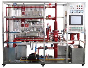 排水系统主要有污水箱,液位传感器,排水泵,排水管道和水处理单元
